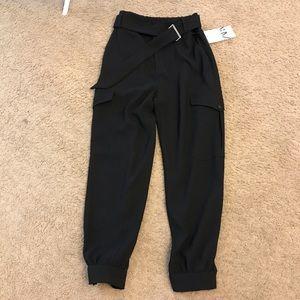 Zara black joggers